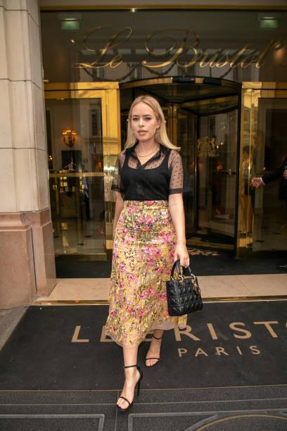 FRA: Tanya Burr Sighting In Paris