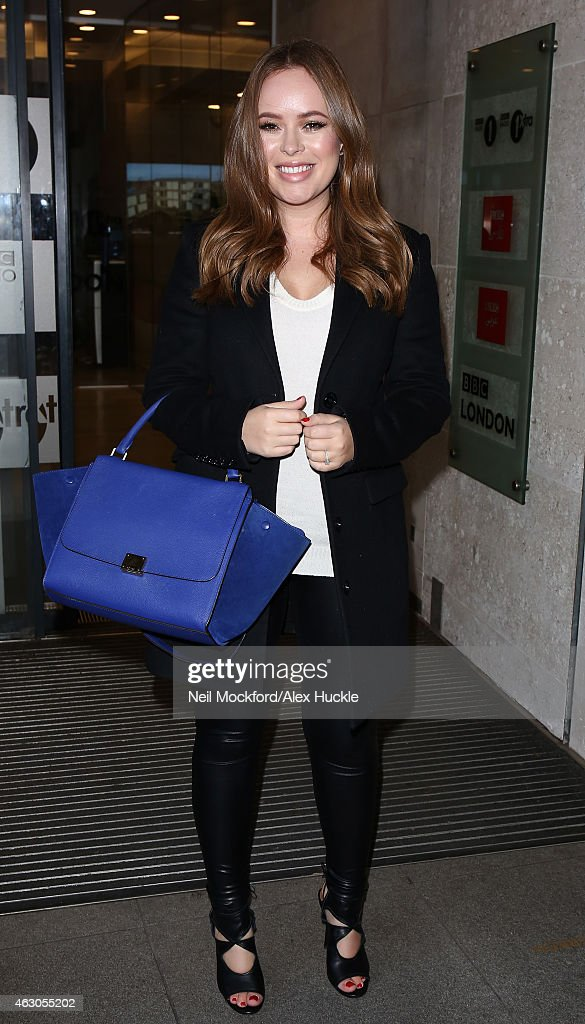 London Celebrity Sightings -  February 9, 2015