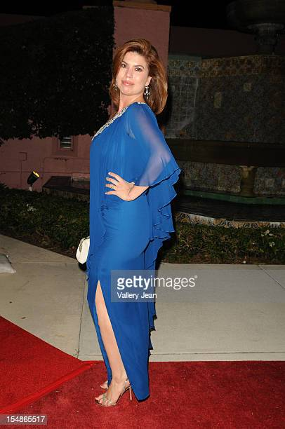 Tanya Callau arrives at 23rd Annual Chris Evert/Raymond James ProCelebrity Tennis Classic Gala at Boca Raton Resort on October 27 2012 in Boca Raton...