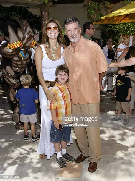 Tanya Callau with Alan Thicke and his son Carter