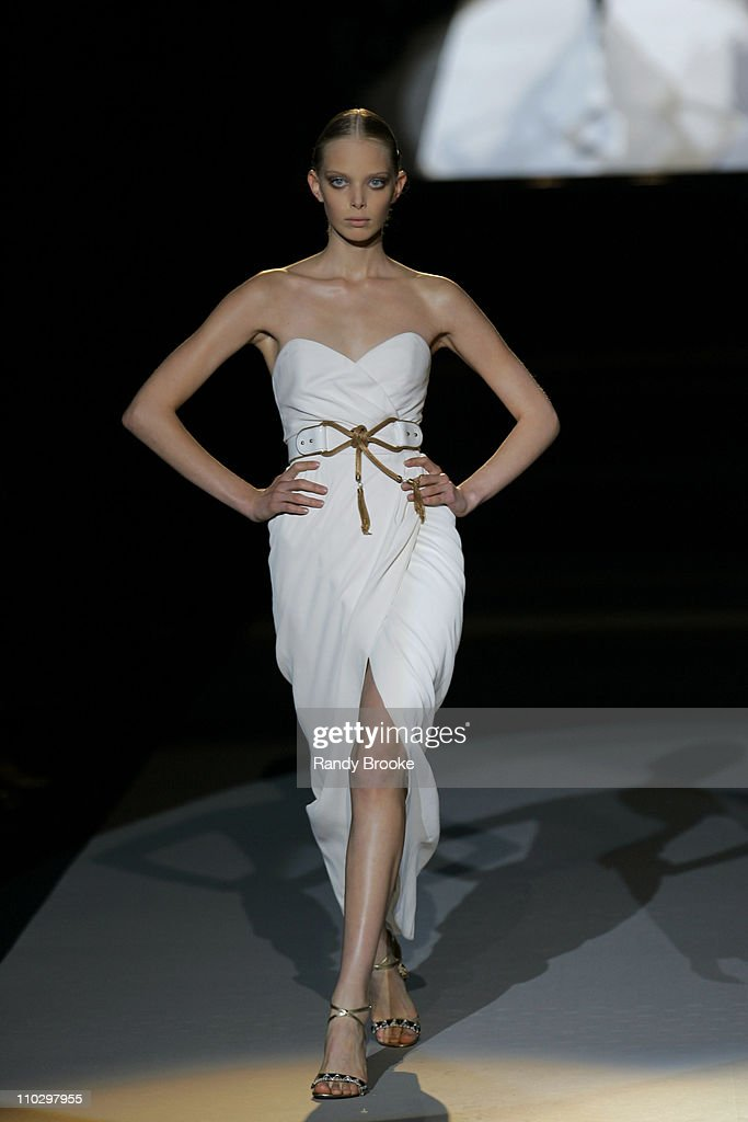 Olympus Fashion Week Spring 2007 - Zac Posen - Runway