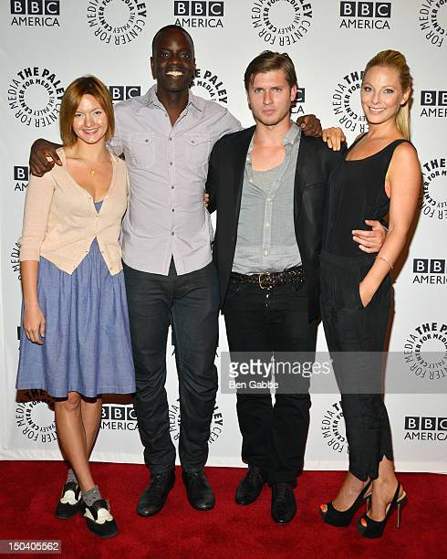 Tanya Fischer Ato Essandoh Tom WestonJones and Anastasia Griffith attend From Homicide To Copper Fontana/Levinson In Conversation at The Paley Center...