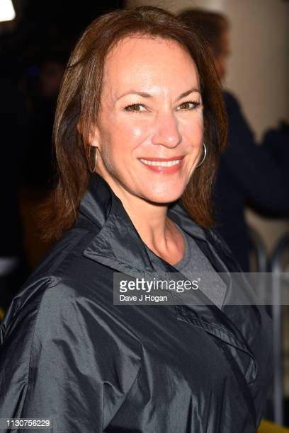 Tanya Franks attends the opening night of Only Fools and Horses The Musical at Theatre Royal Haymarket on February 19 2019 in London England