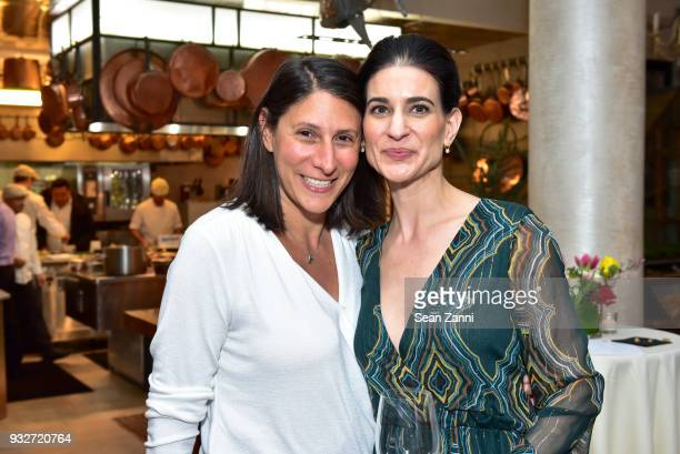 Tanya Hackel and Michelle Babu attend 'The Initiation' Book Launch at Bouley TK on March 15 2018 in New York City