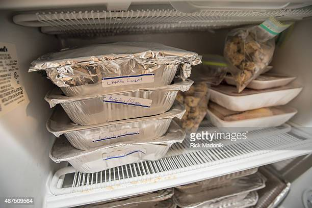 THORNHILL MARCH 25 Tanya Hyams has finished all her Passover cooking and has a full freezer of labels plates to feed her family Lamb curry for...