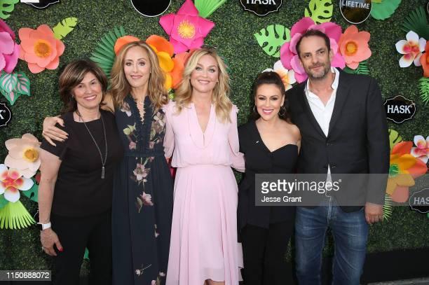 Tanya Lopez Executive Vice President Movies Limited Series Original Movie Acquisitions Lifetime and Lifetime Movies Kim Raver Elisabeth Rohm Alyssa...