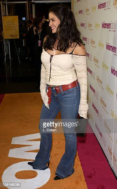 Tanya Memme during The 4th Annual Women Rock Songs From The Movies Arrivals at Kodak Theater in Hollywood California United States