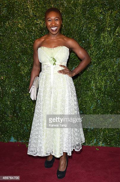 Tanya Moodie attends the 60th London Evening Standard Theatre Awards at London Palladium on November 30 2014 in London England