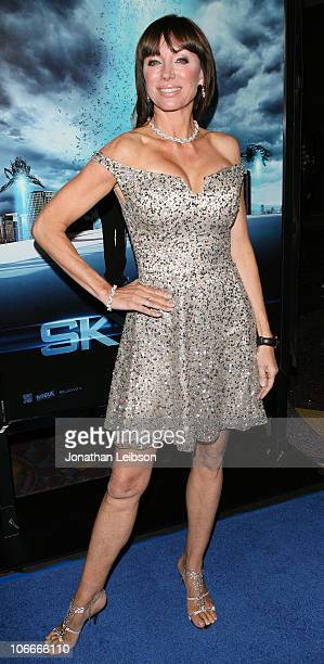 Tanya Newbould arrives for the Skyline Los Angeles Premiere at Regal Cinemas LA Live on November 9 2010 in Los Angeles California