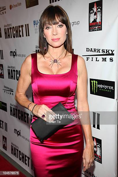 Tanya Newbould attends Hatchet II Los Angeles premiere at the Egyptian Theatre on September 28 2010 in Hollywood California