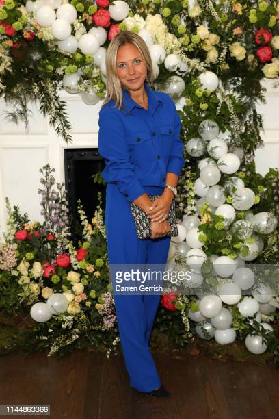 Tanya Philipson attends the Outnet's 10th Anniversary Dinner on April 24 2019 in London England