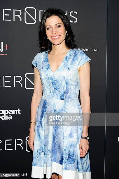 Tanya Rivero attend WSJ Presents the New York Premiere of ZERO DAYS at New York Institute of Technology on June 23 2016 in New York City