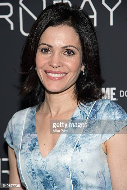 Tanya Rivero attends the Zero Days New York Premiere at New York Institute of Technology on June 23 2016 in New York City