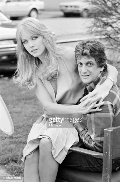 Tanya Roberts, American actress in London, Tuesday 23rd October 1984, she will be starring in the next James Bond film, A View to a Kill, as Stacey...
