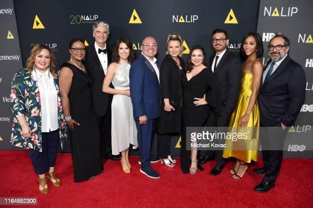 Tanya Saracho, CPB Diversity and Television Content Vice President Sylvia Bugg, Gregory Nava, Karla Souza, NALIP Executive Director Ben Lopez, Carla...