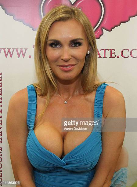 Tanya Tate attends Exxxotica Miami Beach at the Miami Beach Convention Center on May 19 2012 in Miami Beach Florida