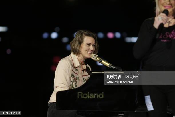 Tanya Tucker and Brandi Carlile at the rehearsals for THE 62ND ANNUAL GRAMMY® REHEARSALS broadcast live from the STAPLES Center in Los Angeles Sunday...