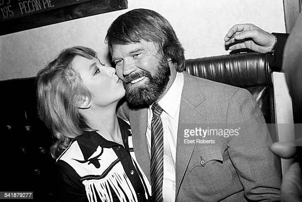 Tanya Tucker and Glen Campbell at Rodeo in New York City on January 22 1981
