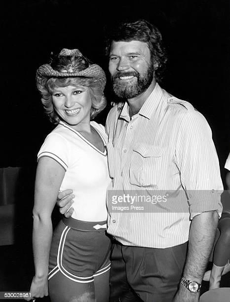 Tanya Tucker and Glen Campbell circa 1980 in New York City