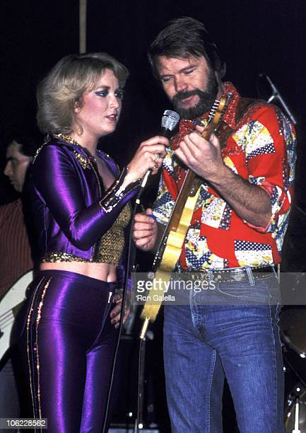 Tanya Tucker and Glen Campbell during Tanya Tucker Live in Concert April 4 1980 at Chuck Landis Country Club in Reseda California United States