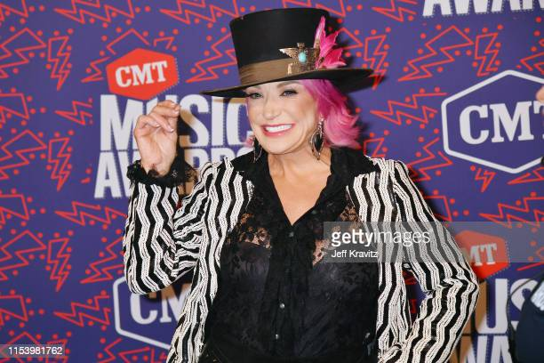 Tanya Tucker attends the 2019 CMT Music Awards at Bridgestone Arena on June 05 2019 in Nashville Tennessee