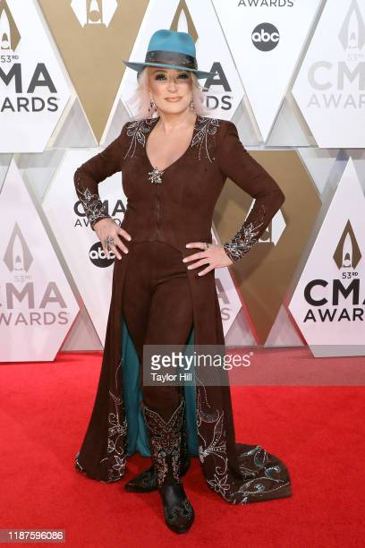 Tanya Tucker attends the 53nd annual CMA Awards at Bridgestone Arena on November 13 2019 in Nashville Tennessee