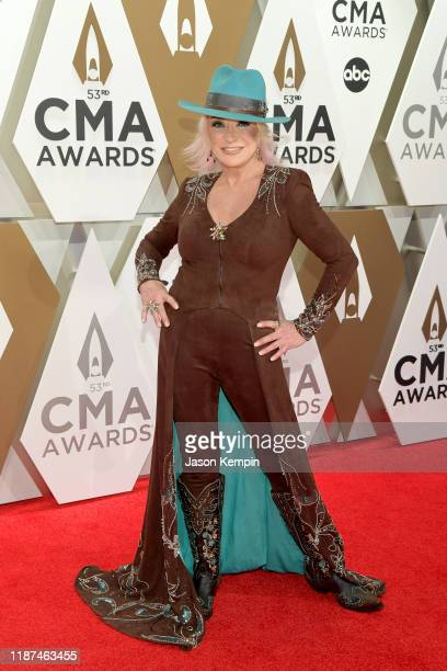 Tanya Tucker attends the 53rd annual CMA Awards at the Music City Center on November 13 2019 in Nashville Tennessee