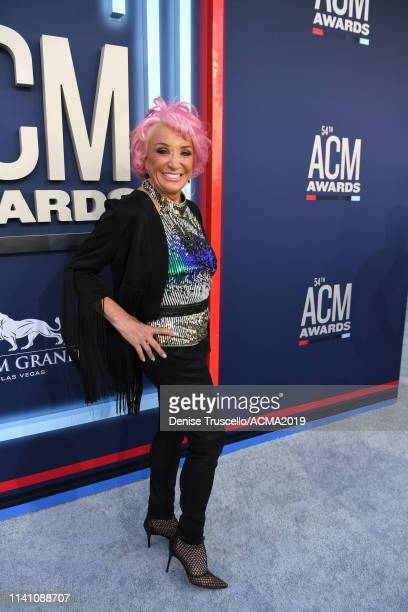Tanya Tucker attends the 54th Academy Of Country Music Awards at MGM Grand Garden Arena on April 07 2019 in Las Vegas Nevada