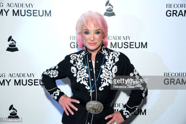 Tanya Tucker attends The Drop Tanya Tucker at the GRAMMY Museum on October 03 2019 in Los Angeles California
