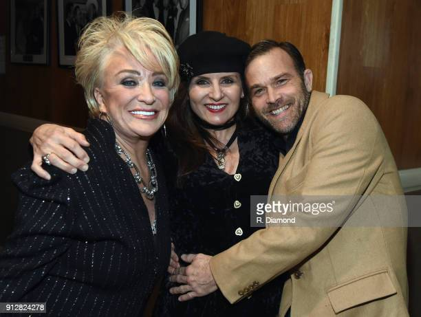 Tanya Tucker Deborah Allen and Waylon Payne attend Singer/Songwriter/Comedian Member of both The Nashville Songwriters Hall of Fame and Country Music...