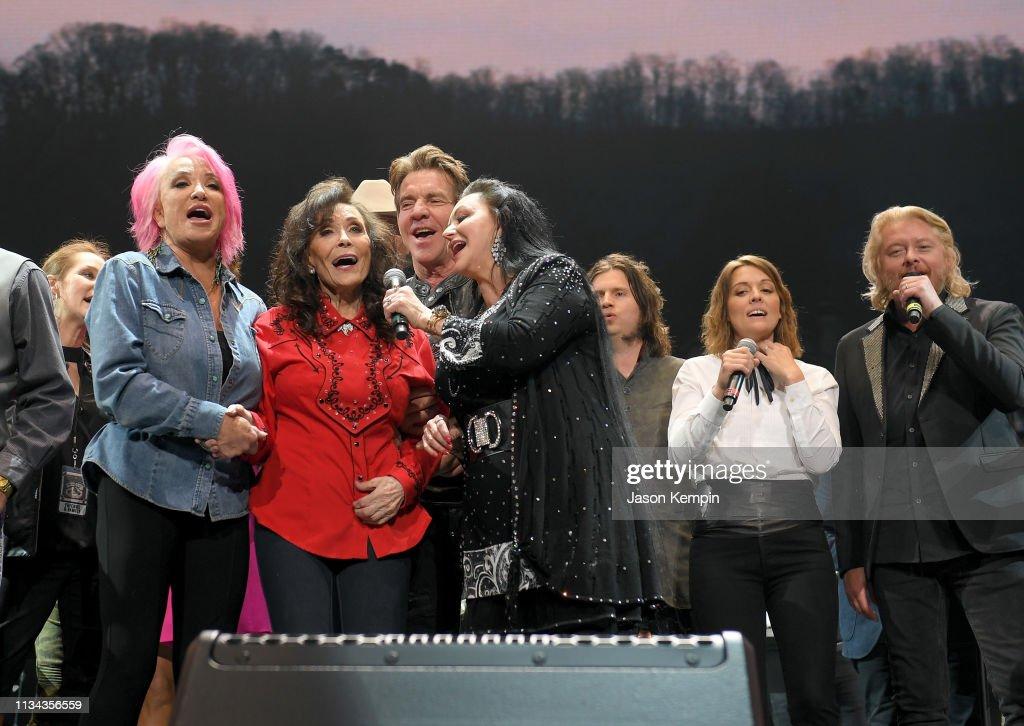 Loretta Lynn: An All-Star Birthday Celebration Concert : News Photo