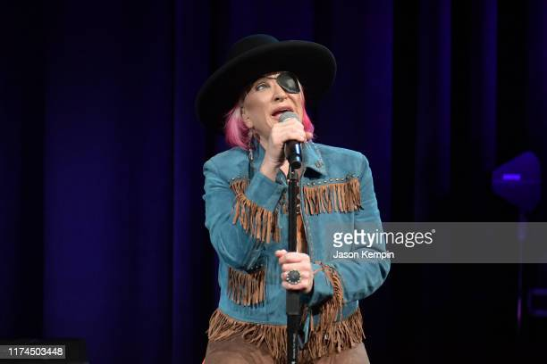 Tanya Tucker performs at The Country Music Hall of Fame on September 13 2019 in Nashville Tennessee