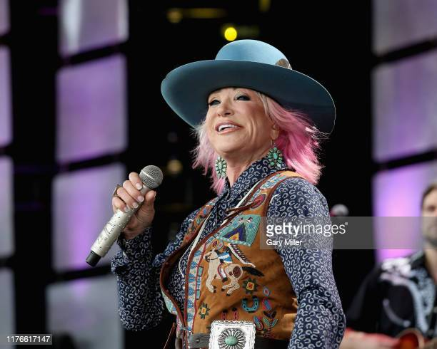 Tanya Tucker performs in concert during Farm Aid 34 at Alpine Valley Music Theatre on September 21 2019 in East Troy Wisconsin