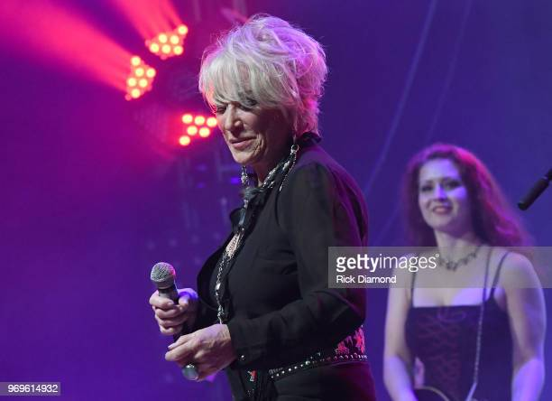 Tanya Tucker performs onstage at the GLAAD TY HERNDON's 2018 Concert for Love Acceptance at Wildhorse Saloon on June 7 2018 in Nashville Tennessee