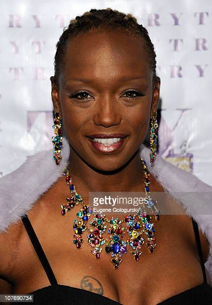 Tanya Young Williams attends the release party for I'm Tired Carry Your Own S#T at Juliet Supper Club on December 19 2010 in New York City