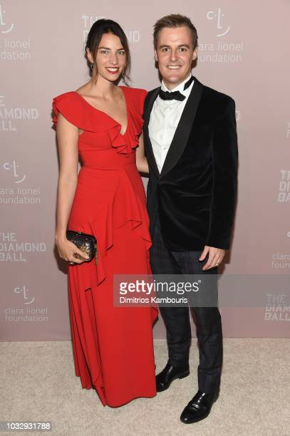 Tanyella Evans and Hugh Evans attend Rihanna's 4th Annual Diamond Ball benefitting The Clara Lionel Foundation at Cipriani Wall Street on September...