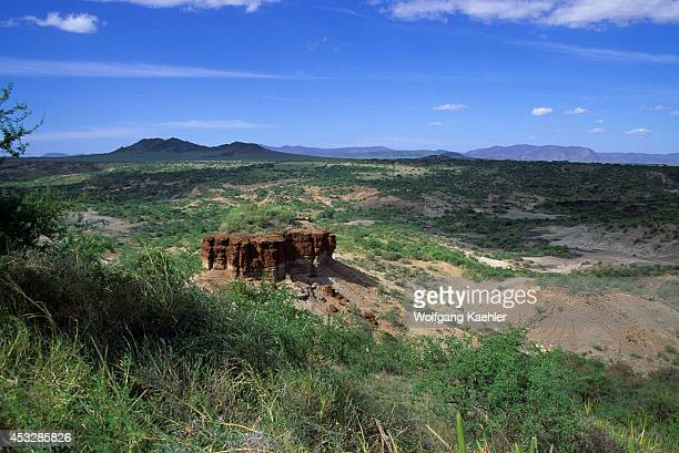 Tanzania, Olduvai Gorge, Site Of Man's Earliest Ancestors In East Africa.