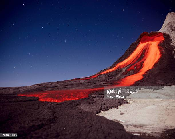 tanzania, volcano ol doinyo lengai - lava stock pictures, royalty-free photos & images