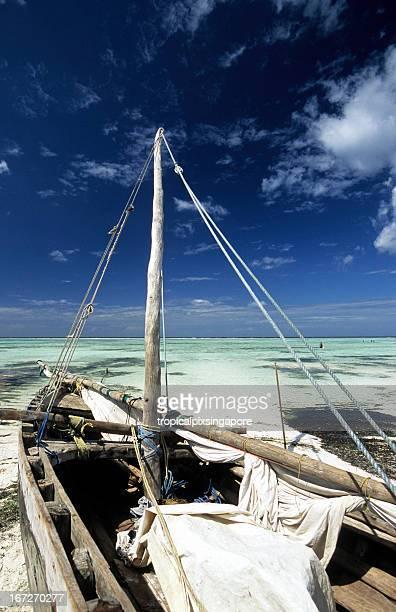 Tanzania, Zanzibar, east coast, beach.