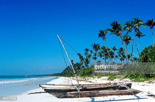 tanzania, zanzibar, east coast, beach. - zanzibar stock photos and pictures