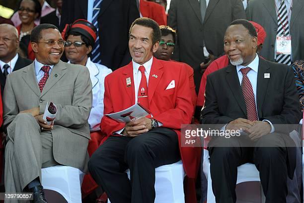 Tanzanian President Jakaya Mrisho Kikwete Botswana Democratic Party President Seretse Khama Ian Khama South African deputy president Kgalema...