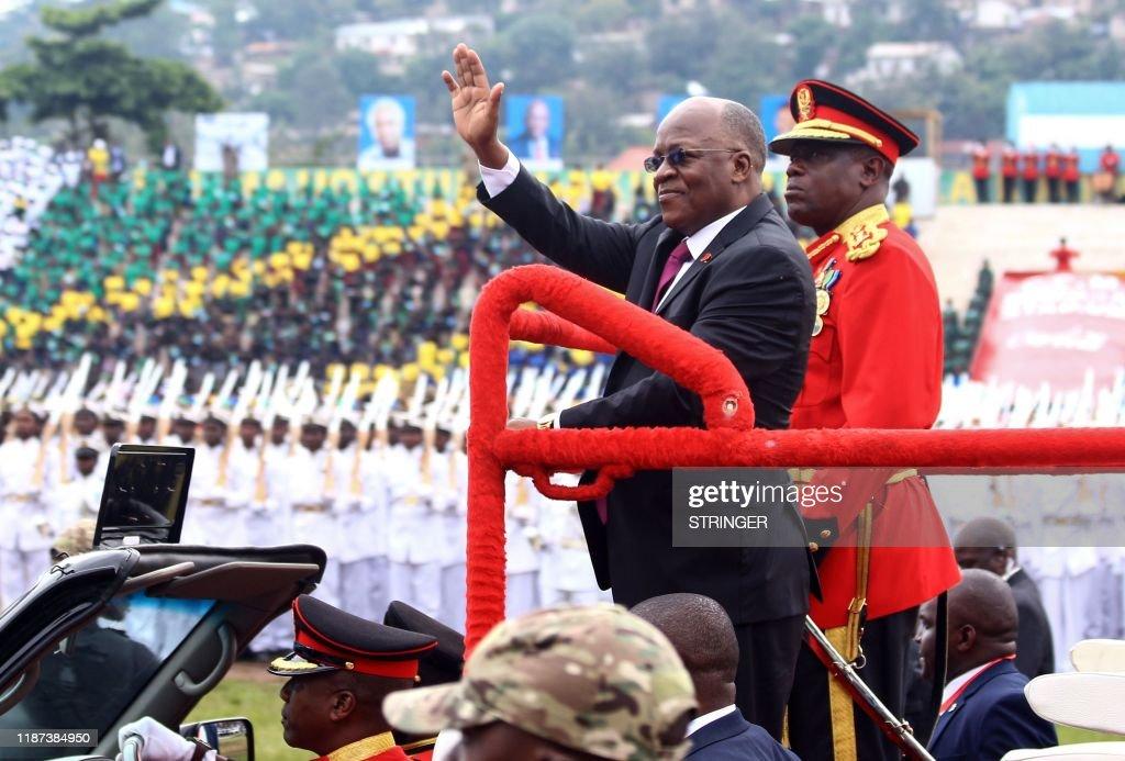 TANAZANIA-POLITICS-ANNIVERSARY-INDEPENDENCE : News Photo
