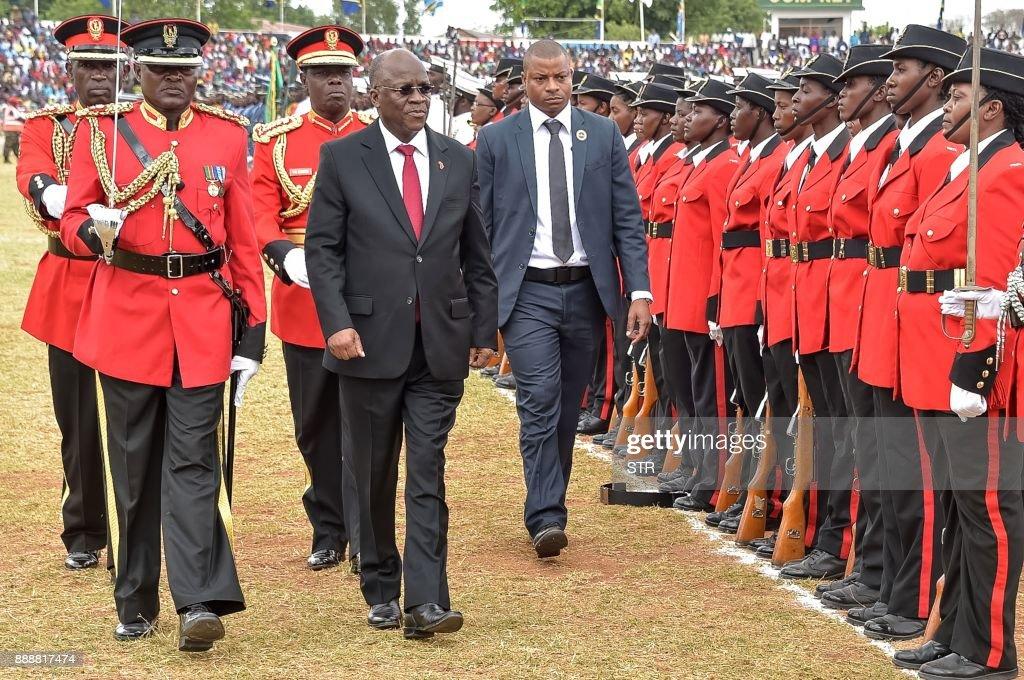 TANZANIA-POLITICS-IDAY-MAGUFULI : News Photo