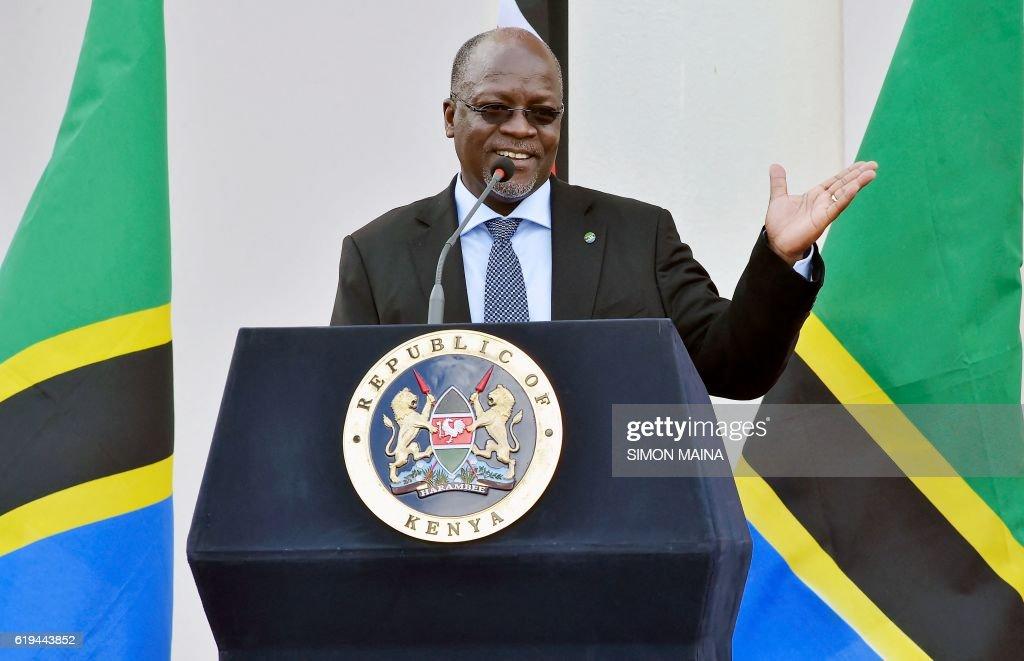 KENYA-TANZANIA-DIPLOMACY : News Photo