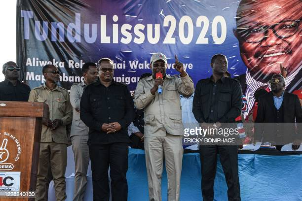 Tanzania's former MP and the presidential candidate of the Chadema main opposition party Tundu Lissu , who was shot 16 times in a 2017 attack and...