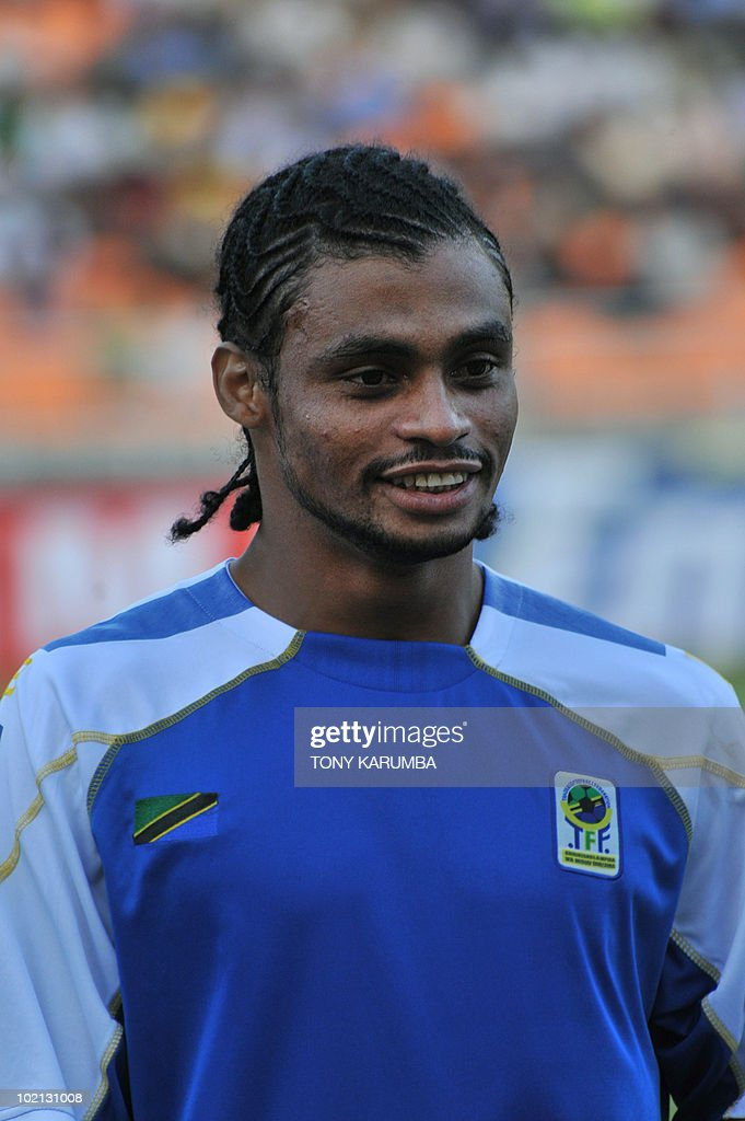 Tanzania's midfielder Abdulhalim Homoud poses before a friendly match against Brazil on June 7, 2010, at the National stadium in Dar es Salaam, ahead of the WC2010 FIFA World Cup held in South Africa.