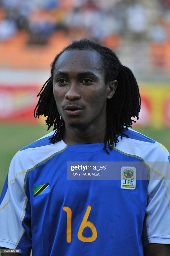Tanzania's midfielder Nizar Khalfan poses before a friendly match against Brazil on June 7, 2010, at the National stadium in Dar es Salaam, ahead of the WC2010 FIFA World Cup held in South Africa.