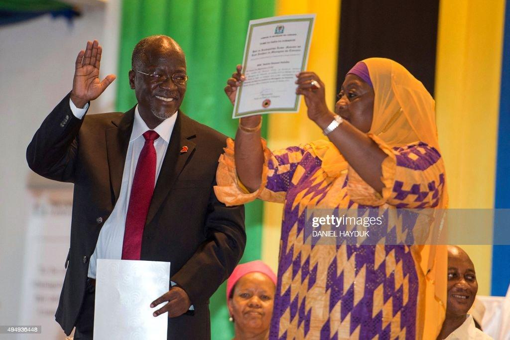TANZANIA-VOTE : News Photo