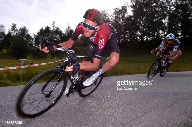Tao Geoghegan Hart of United Kingdom and Team INEOS / during the 76th Tour of Poland 2019 Stage 6 a 160km stage from Zakopane to Koscielisko 973m /...