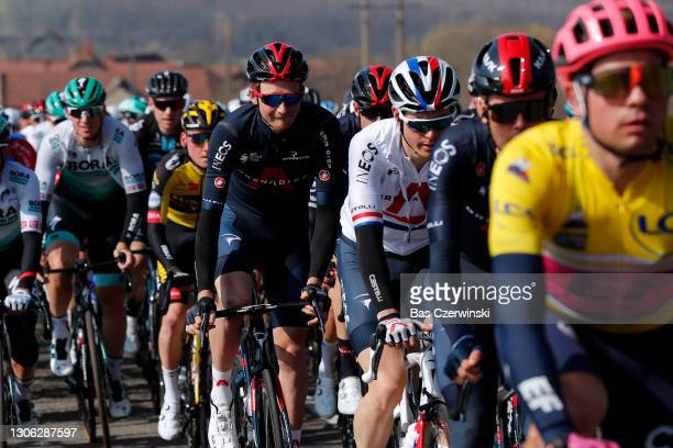Tao Geoghegan Hart of United Kingdom and Team INEOS Grenadiers during the 79th Paris - Nice 2021, Stage 4 a 187,5km stage from Chalon-Sur-Saône to...